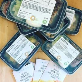 Thanks @jreneeburd for the #powersupply meals for our #clients this morning! Great #postworkout #fuel #paleo #vegetarian #cleaneating #fitoneoldtown