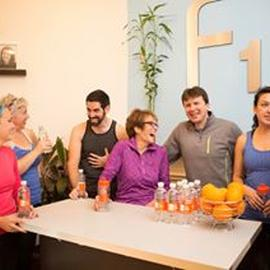 Challenge Party Tonight 7-8pm at the studio! Hope you can make it for #healthysnacks #prizes #fun #fitoneoldtown