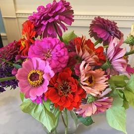 #beautifulflowers brought in by #awesomeclient! #homegarden #clientlove #fitoneoldtown #thankful